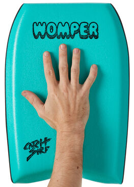 TURQUOISE BOARDSPORTS SURF CATCH SURF BOARDS - WOMP-16TURQ