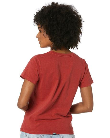 REDWOOD WOMENS CLOTHING THRILLS TEES - WTR20-103HREDW