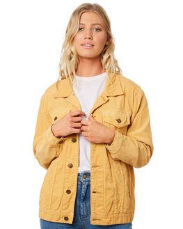 HONEY GOLD WOMENS CLOTHING BILLABONG JACKETS - 6595899HOG