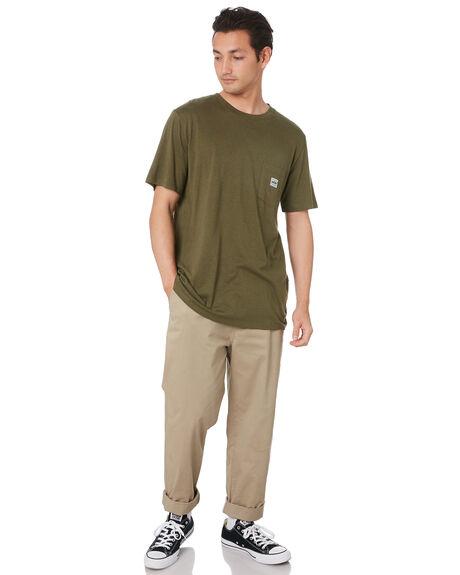 HEMP GREEN MENS CLOTHING DEPACTUS TEES - D5211000HMPGN