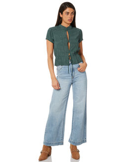 STELLA BLUES WOMENS CLOTHING ROLLAS JEANS - 12694-3562