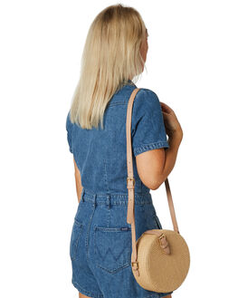 NATURAL WOVEN WOMENS ACCESSORIES BILLINI BAGS + BACKPACKS - HB12NAT
