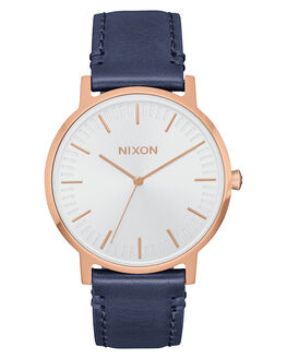 ROSE GOLD NAVY WHITE MENS ACCESSORIES NIXON WATCHES - A11992798
