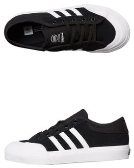 BLACK WHITE KIDS BOYS ADIDAS ORIGINALS SNEAKERS - BY4111BLK