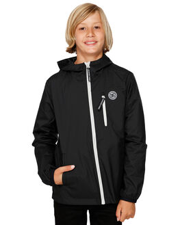 BLACK KIDS BOYS DC SHOES JUMPERS + JACKETS - EDBJK03041-KVJ0