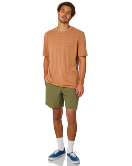 WASHED CLAY MENS CLOTHING RHYTHM TEES - JAN19M-PT09-CLA