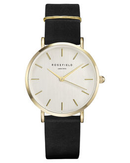 BLACK GOLD WOMENS ACCESSORIES ROSEFIELD WATCHES - WBLG-W71BLKGD