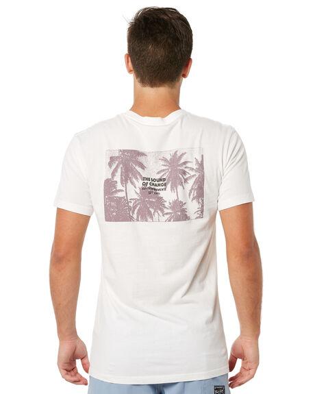WHITE OUTLET MENS RHYTHM TEES - JUL18M-PT10WHT