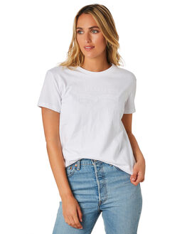WHITE WOMENS CLOTHING LEVI'S TEES - 76159-00020002