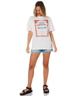 WHITE WOMENS CLOTHING INSIGHT TEES - 1000085451WHT