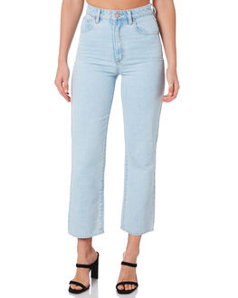 BLEACHED STONE WOMENS CLOTHING ABRAND JEANS - 71791-1791