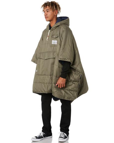 NAVY/OLIVE MENS CLOTHING POLER JACKETS - 43560001-NVY
