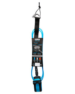 BLUE BLACK BOARDSPORTS SURF FCS LEASHES - ECOA-BUB-05FBLUBK