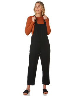BLACK WOMENS CLOTHING O'NEILL PLAYSUITS + OVERALLS - 5921804BLACK