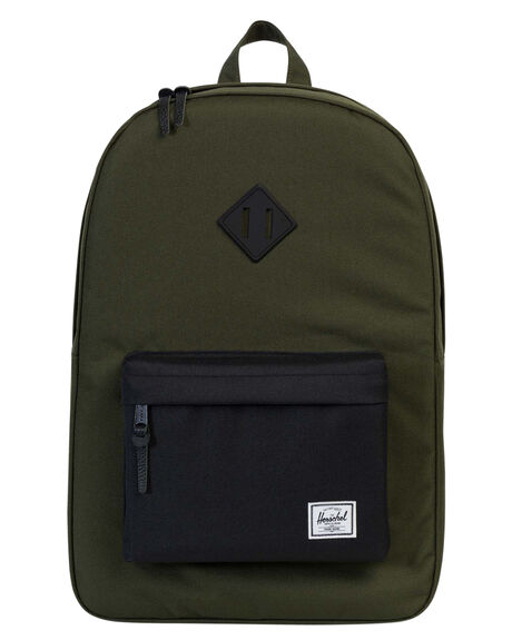FOREST NIGHT BLACK MENS ACCESSORIES HERSCHEL SUPPLY CO BAGS + BACKPACKS - 10007-01572-OSFOR