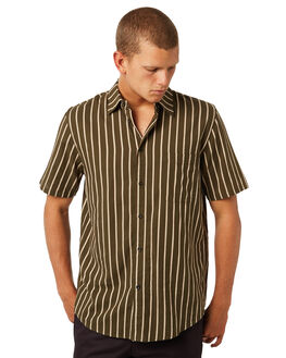 OLIVE MENS CLOTHING AFENDS SHIRTS - M184203OLV