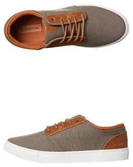 COPPER GREY MENS FOOTWEAR KUSTOM SNEAKERS - 4967200BCOPGY