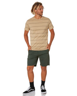 KHAKI MENS CLOTHING RIP CURL TEES - CTESA20064