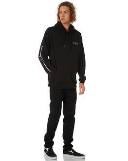 BLACK MENS CLOTHING RVCA JUMPERS - R384152BLK