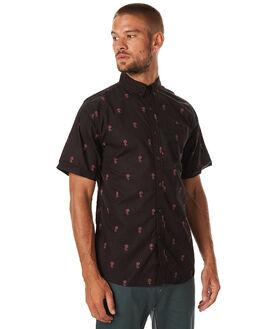 BLACK MENS CLOTHING KATIN SHIRTS - WVROSF16BLK