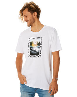 WHITE MENS CLOTHING HURLEY TEES - AO8793100