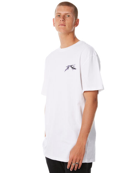 WHITE OUTLET MENS RUSTY TEES - TTM1995WHT
