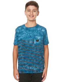 ESTATE BLUE KIDS BOYS QUIKSILVER TEES - EQBKT03114BSW0