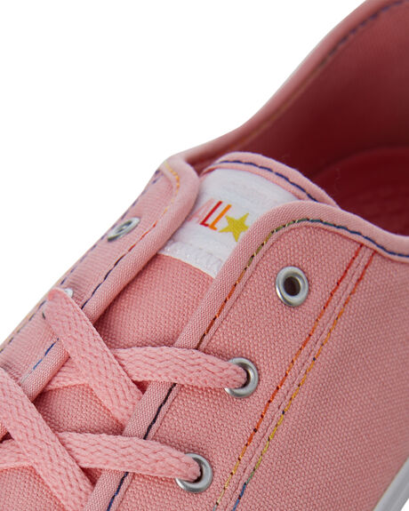 COASTAL PINK OUTLET WOMENS CONVERSE SNEAKERS - 564980CCPINK