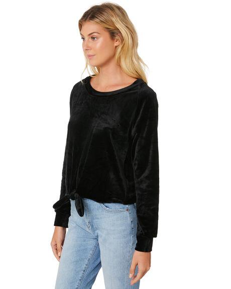 BLACK WOMENS CLOTHING BILLABONG FASHION TOPS - 6586139XBLK