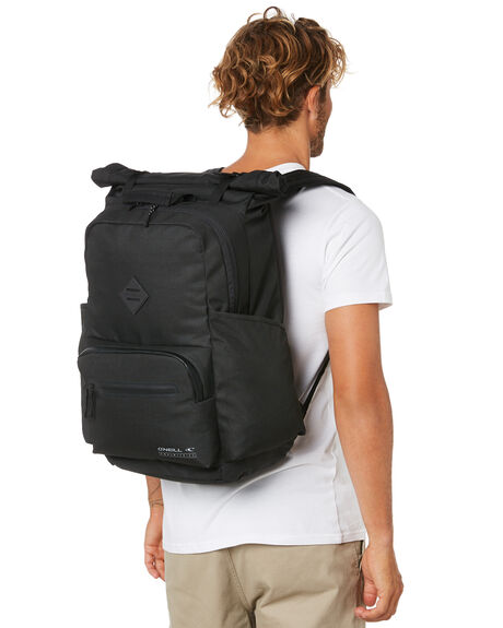 BLACK MENS ACCESSORIES O'NEILL BAGS + BACKPACKS - FA0195002BLK