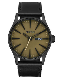 BLACK MATTE SAGE MENS ACCESSORIES NIXON WATCHES - A1052988