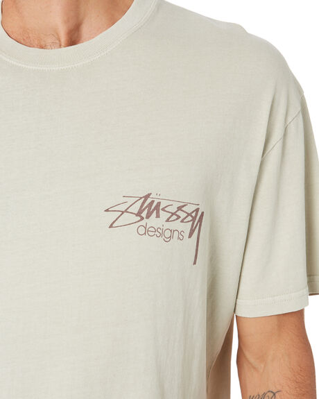 WHITE SAND MENS CLOTHING STUSSY TEES - ST005008WTSND