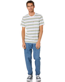GREY MIMOSA CREME MENS CLOTHING LEVI'S TEES - 29813-0101GRMCR