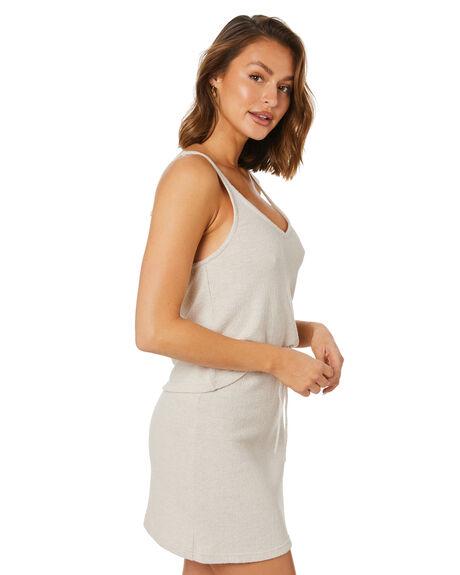 OATMEAL WOMENS CLOTHING RUSTY FASHION TOPS - FSL0576OAT