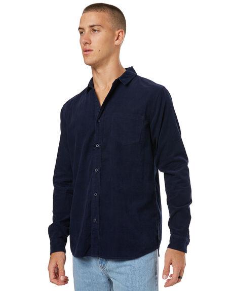 DIRTY DENIM MENS CLOTHING BANKS SHIRTS - WLS0053DDN