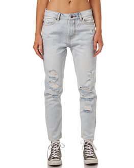 SALT BLUE WOMENS CLOTHING RUSTY JEANS - PAL1008STE