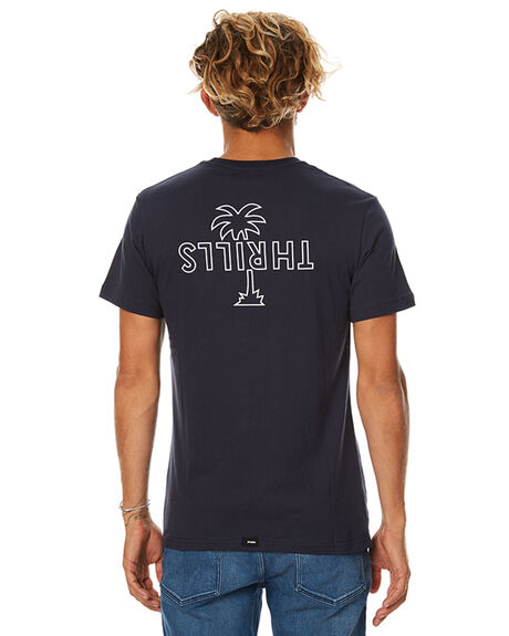 NAVY MENS CLOTHING THRILLS TEES - TW7-113ENVY