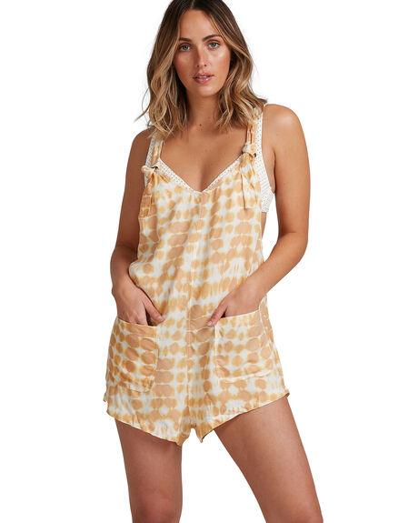 MUSTARD WOMENS CLOTHING BILLABONG PLAYSUITS + OVERALLS - BB-6517521-MUS