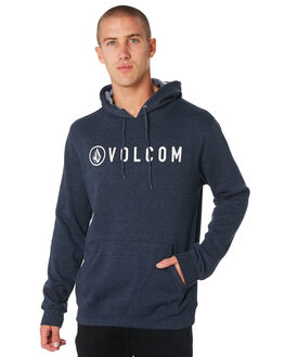 NAVY MENS CLOTHING VOLCOM JUMPERS - A41416R3NVY