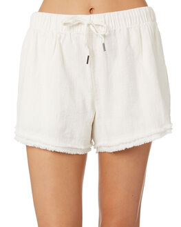 VINTAGE CREAM WOMENS CLOTHING RUSTY SHORTS - WKL0669CREAM