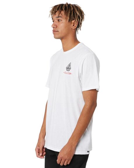 WHITE MENS CLOTHING VOLCOM TEES - A5001919WHT