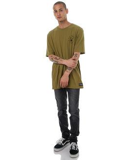 OLIVE DRAB MENS CLOTHING BURTON TEES - 189621300