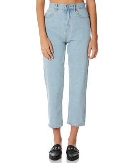 STONE BLUE WOMENS CLOTHING AFENDS JEANS - W181451STBLU