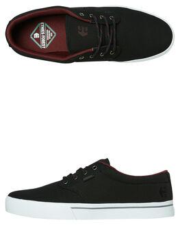 BLACK MENS FOOTWEAR ETNIES SKATE SHOES - 4101000323547