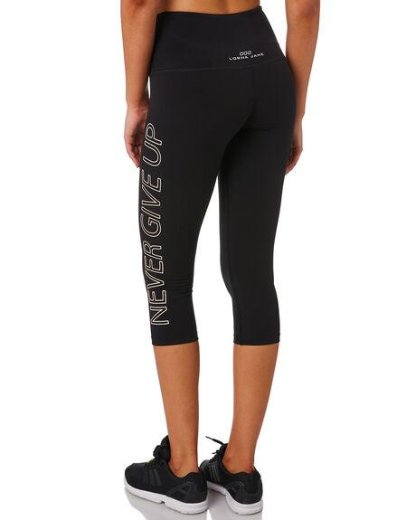 BLACK WOMENS CLOTHING LORNA JANE ACTIVEWEAR - WS1019204BLK