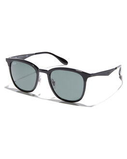 BLACK MATTE BLACK MENS ACCESSORIES RAY-BAN SUNGLASSES - 0RB4278628271