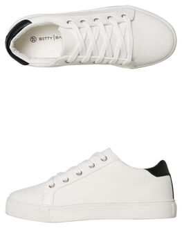 OFF WHITE WOMENS FOOTWEAR BETTY BASICS SNEAKERS - BB909W19OWHT