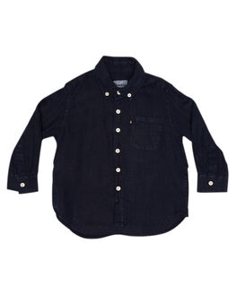 NAVY KIDS BOYS ROOKIE BY THE ACADEMY BRAND TOPS - R19S840NVY