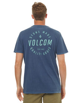 BLUE MENS CLOTHING VOLCOM TEES - A4341771BLU