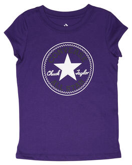 COURT PURPLE KIDS GIRLS CONVERSE TOPS - R368992P51
